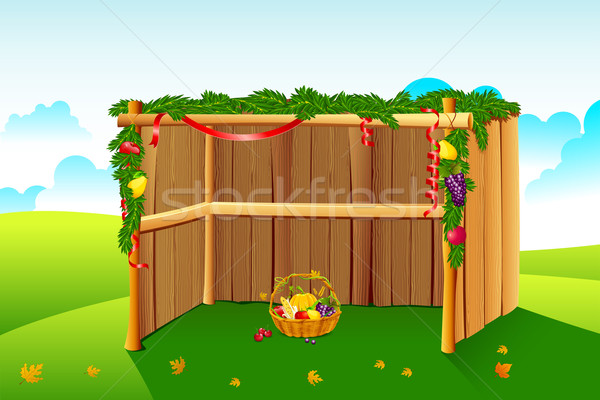 Decorated Sukkah Stock photo © vectomart