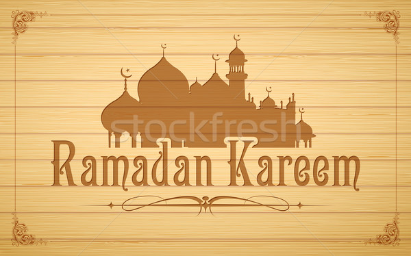 Ramadan Kareem (Generous Ramadan) background Stock photo © vectomart
