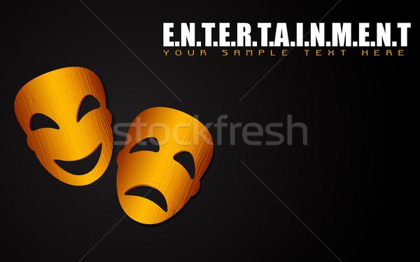 Entertainment Mask Stock photo © vectomart
