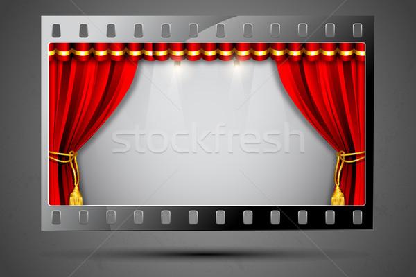 Cinema Theater Stock photo © vectomart
