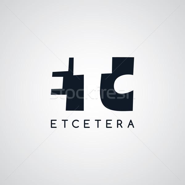 手紙 ロゴタイプ その他 ベクトル 芸術 実例 ストックフォト © vector1st