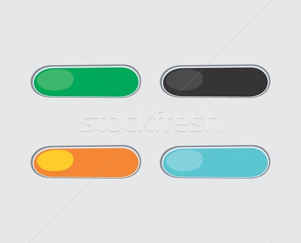 Juego elemento diseno gráfico ilustración Foto stock © vector1st