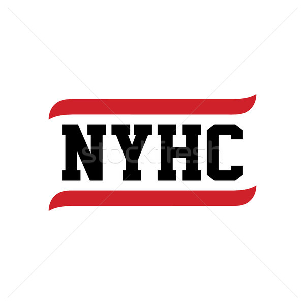 black red text new york hardcore Stock photo © vector1st