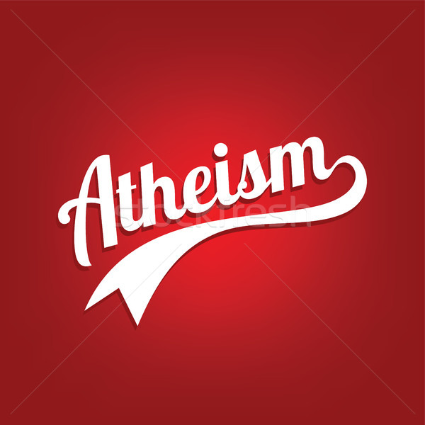 atheism theme - against religious ignorance campaign Stock photo © vector1st