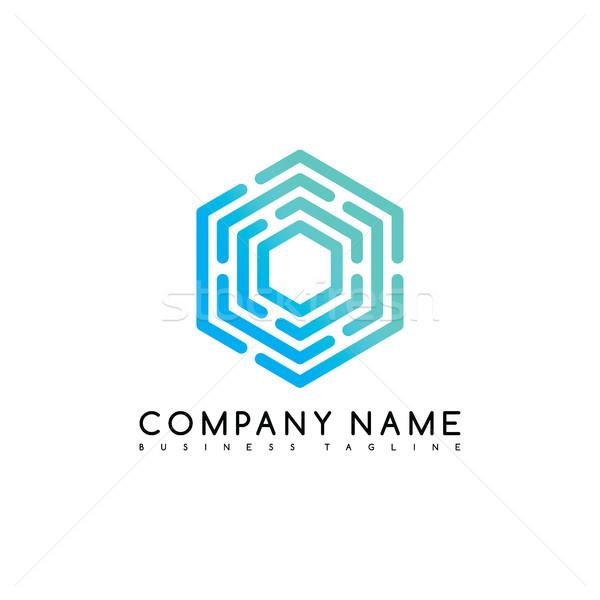 exclusive brand company template logo logotype vector art Stock photo © vector1st