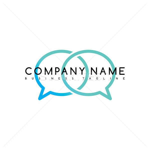 Stok fotoğraf: özel · marka · şirket · şablon · logo