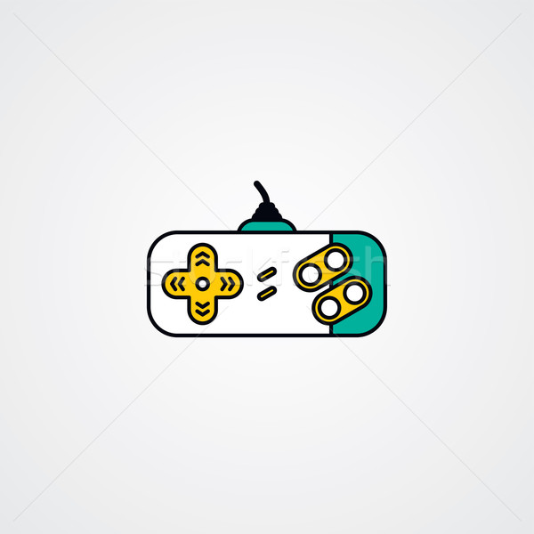 joystick video game console Stock photo © vector1st