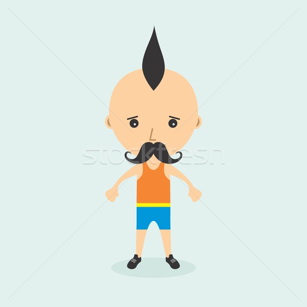cartoon character Stock photo © vector1st