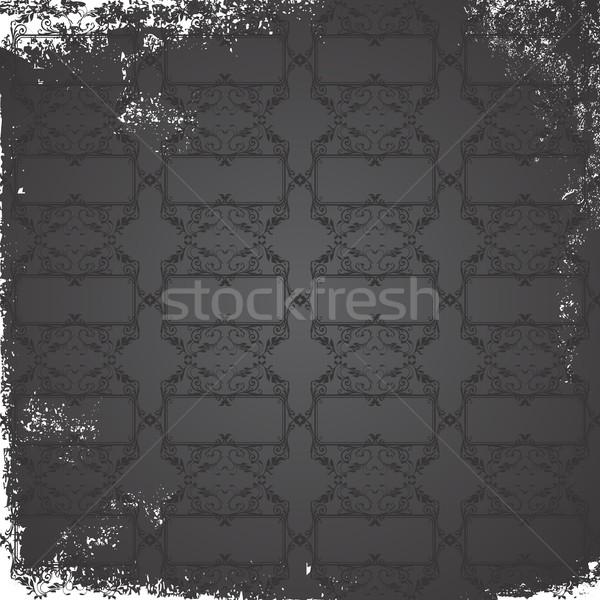 Kunst vector grafische ontwerp illustratie Stockfoto © vector1st