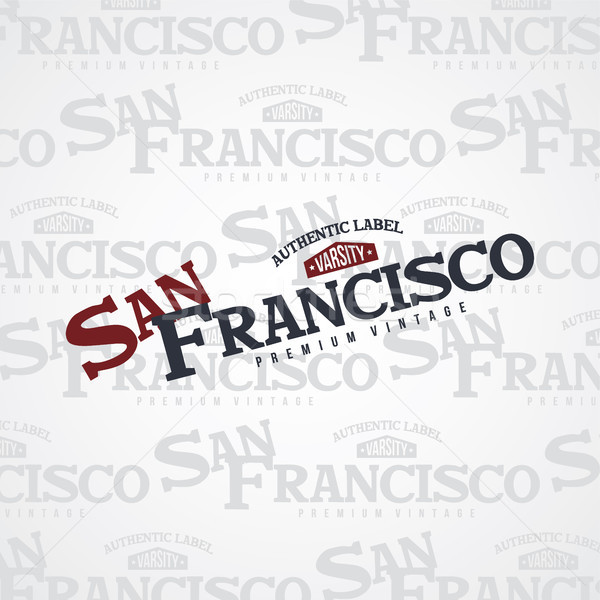 san francisco united states of america Stock photo © vector1st