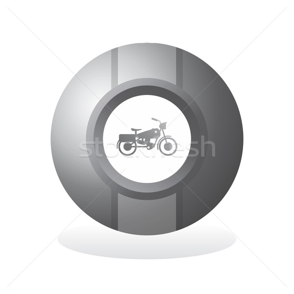 кнопки икона искусства вектора графических дизайна Сток-фото © vector1st