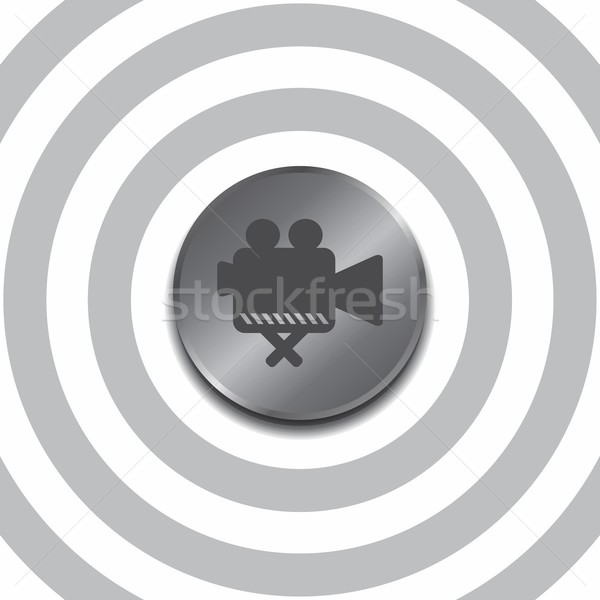 icon button Stock photo © vector1st