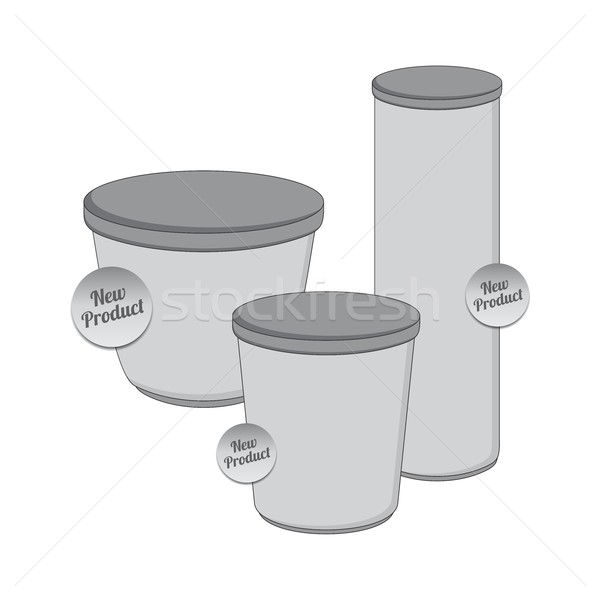 製品 業界 包装 コンテナ ベクトル グラフィック ストックフォト © vector1st