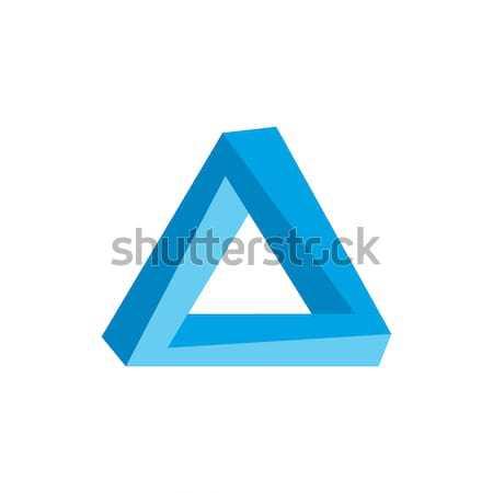 üçgen logo sanat soyut arka plan Stok fotoğraf © vector1st