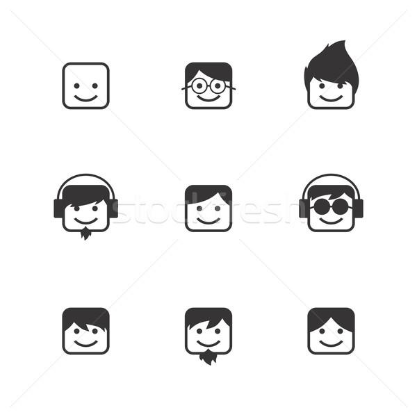 avatar portrait picture icon Stock photo © vector1st