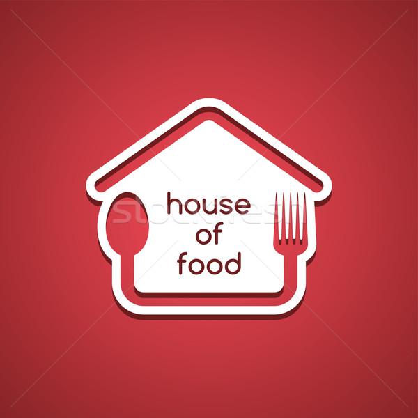 Homemade House Food Logo Template Vector Illustration C Vector1st