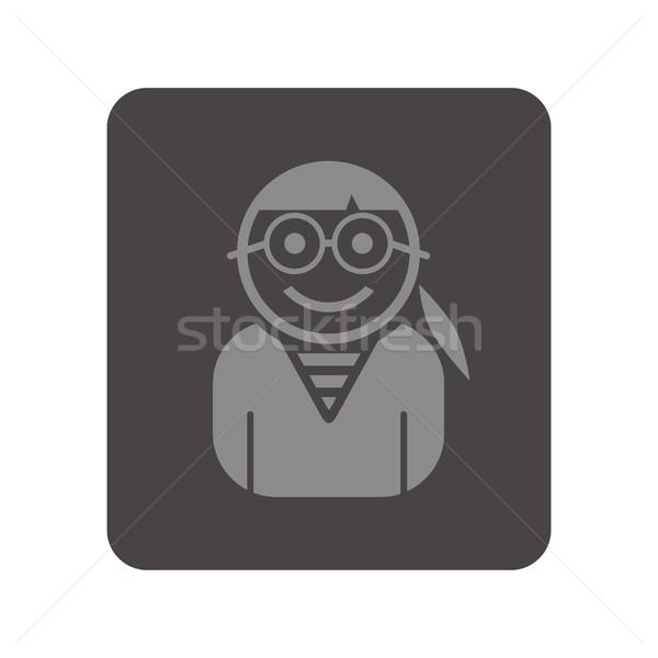 Аватара портрет фотография икона вектора графических Сток-фото © vector1st
