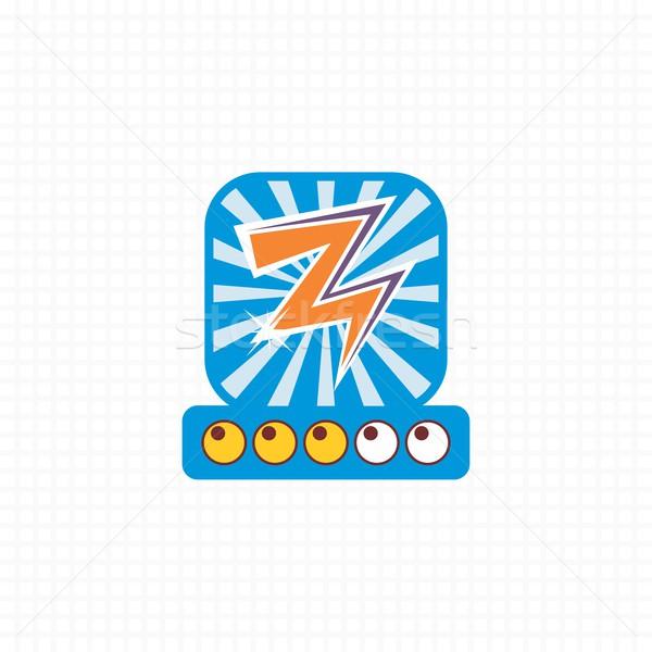 Juego elemento vector arte diseno gráfico Foto stock © vector1st