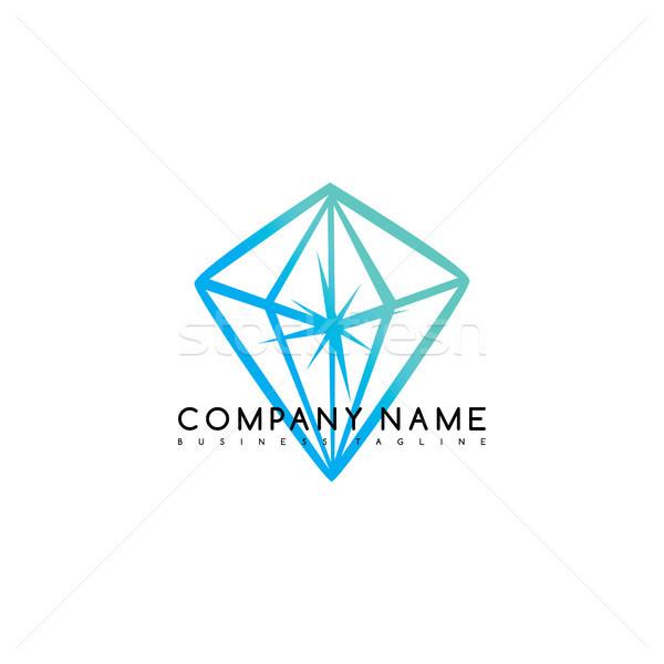 Ekskluzywny marka firmy szablon logo Zdjęcia stock © vector1st