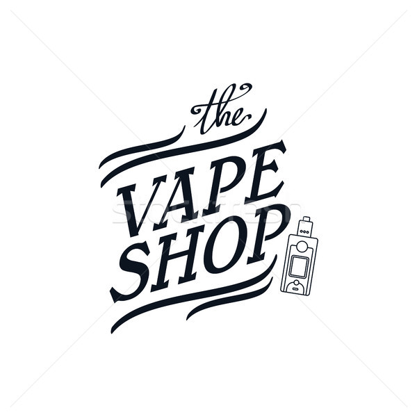 Stock photo: electric cigarette personal vaporizer