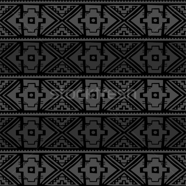 seamless native pattern background Stock photo © vector1st