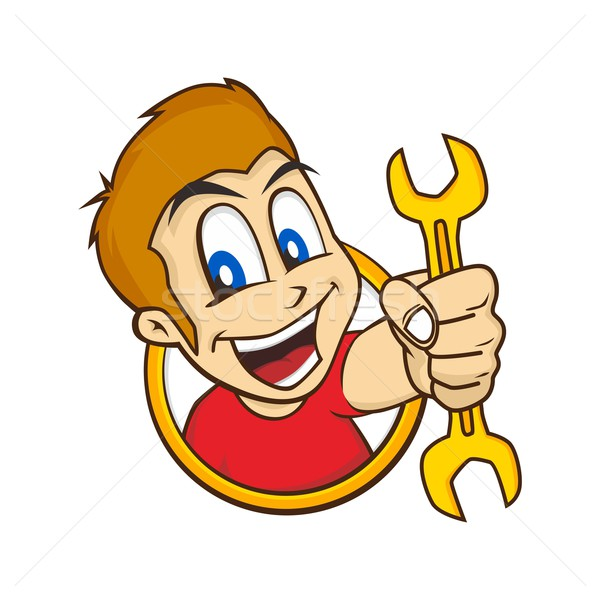 cartoon guy Stock photo © vector1st