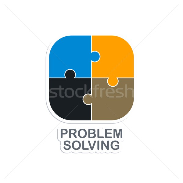 problem solving Stock photo © vector1st