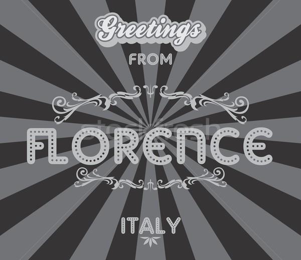 tourism greeting theme illustration Stock photo © vector1st