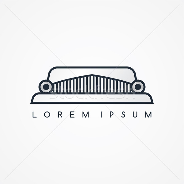 limousine logotype theme Stock photo © vector1st