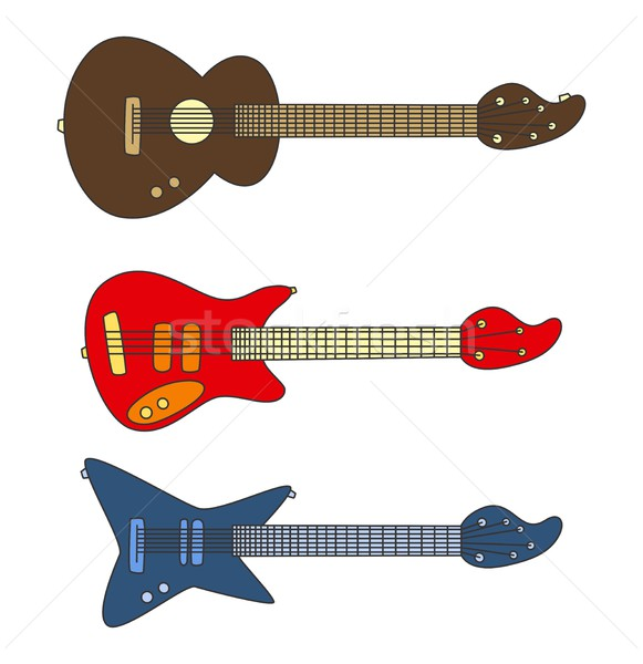 music theme Stock photo © vector1st