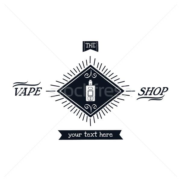 electric cigarette personal vaporizer Stock photo © vector1st