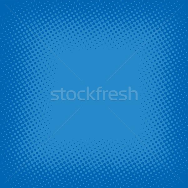 Meio-tom cor desenho animado retro papel abstrato Foto stock © vector1st