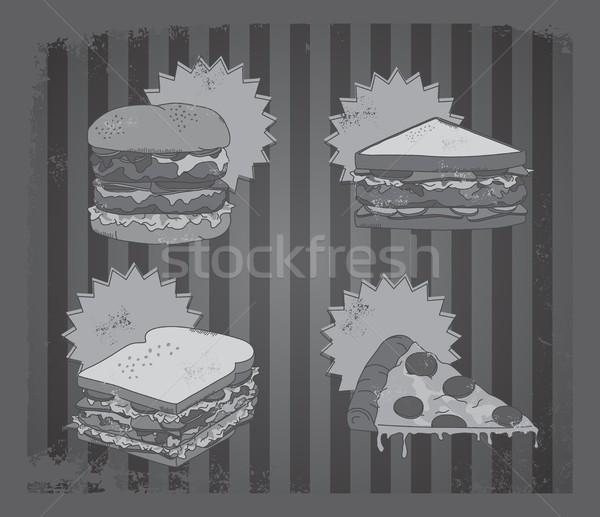 Illusztráció művészet szerkeszthető vektor grafikus terv Stock fotó © vector1st