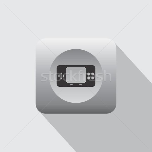 Video oyunu konsol vektör sanat grafik örnek Stok fotoğraf © vector1st