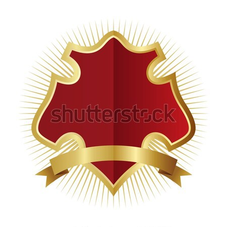 Arte escudo vetor gráfico projeto ilustração Foto stock © vector1st