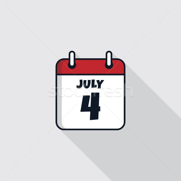 дата календаря икона день вектора искусства Сток-фото © vector1st
