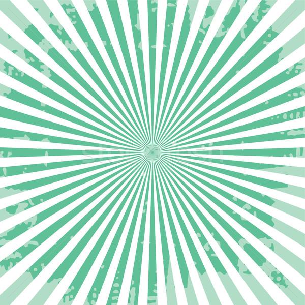 popular ray star burst grungy grunge background vintage Stock photo © vector1st