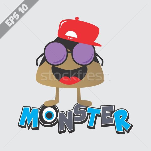 Stock photo: cartoon monster character