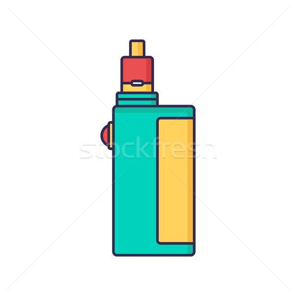 vaporizer electric cigarette vapor mod - vape life Stock photo © vector1st