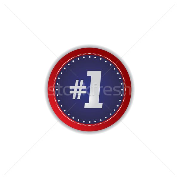 Icono botón vector arte ilustración Foto stock © vector1st