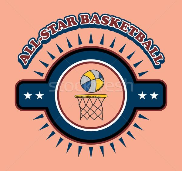 Sportok szerkeszthető vektor grafikus művészet terv Stock fotó © vector1st