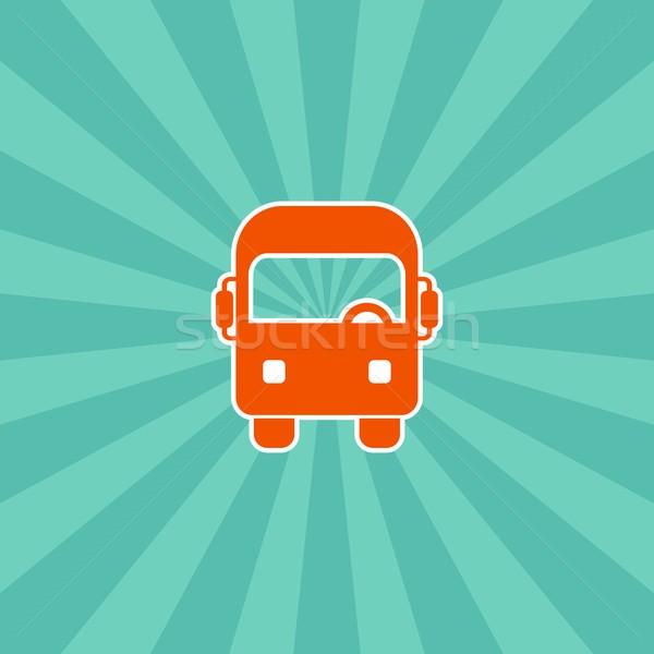 vehicle icon Stock photo © vector1st