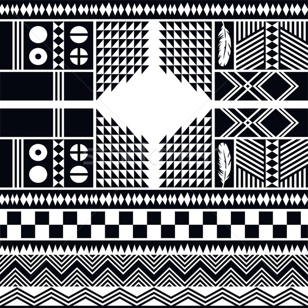 native pattern tribe culture Stock photo © vector1st