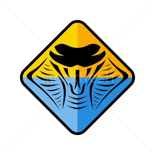 Cobra serpente assinar símbolo ícone logotipo Foto stock © vector1st