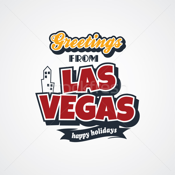 Las Vegas vacances vecteur art illustration Photo stock © vector1st