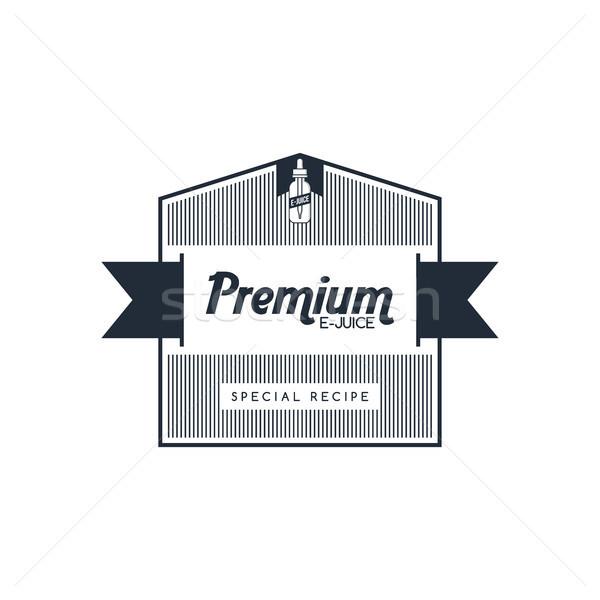 личные жидкость Label Знак набор вектора Сток-фото © vector1st