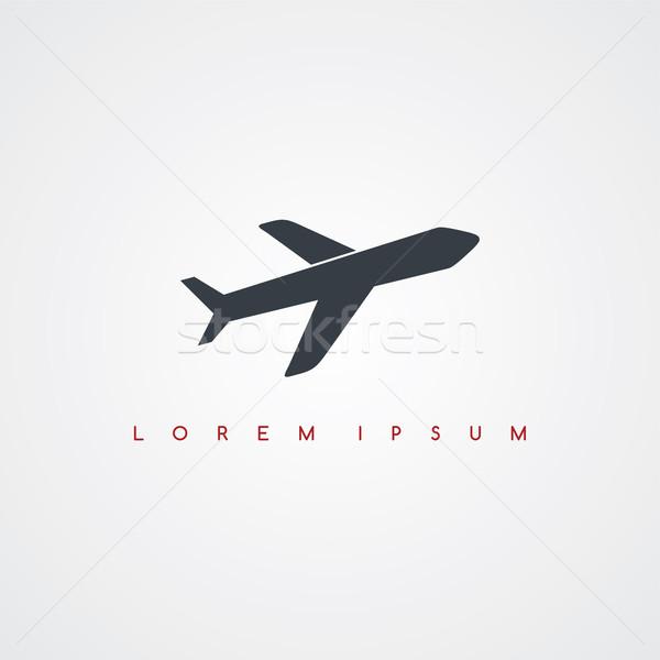 空港 アイコン にログイン ロゴタイプ ベクトル 芸術 ストックフォト © vector1st