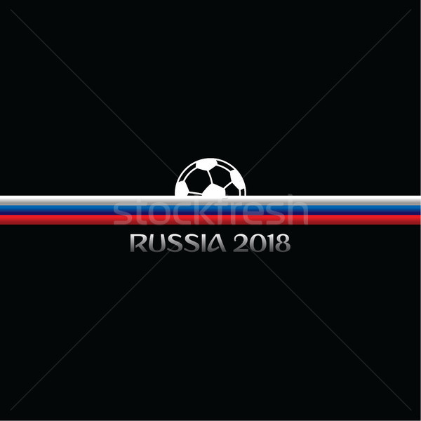 russia soccer tournament 2018 Stock photo © vector1st