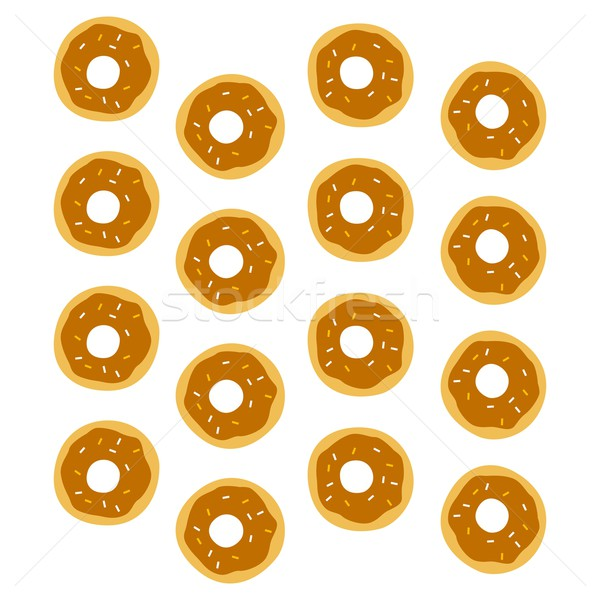 donut pattern Stock photo © vector1st