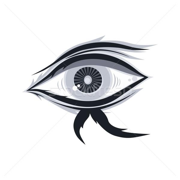 eye illustration Stock photo © vector1st
